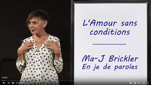 youtube l amour sans conditions